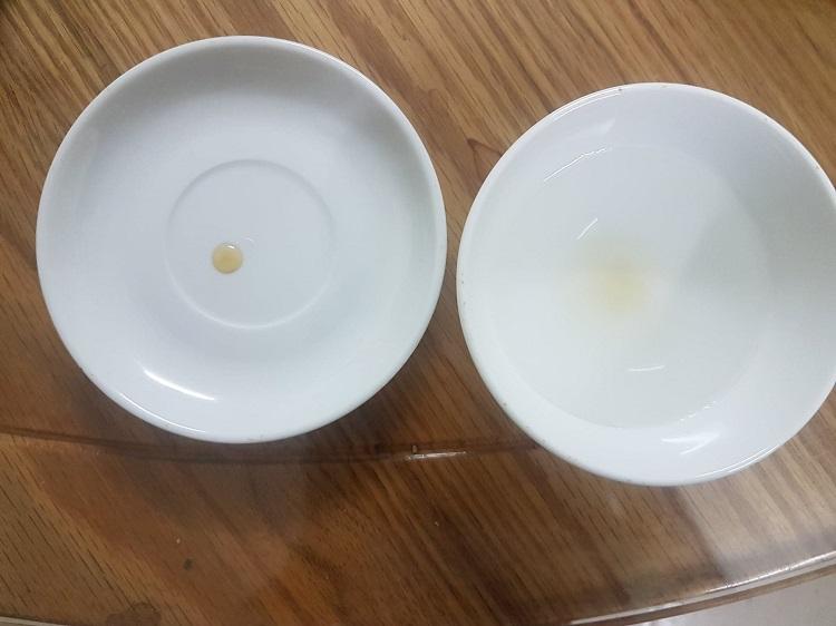Cách thử xem nước đường đã đạt chưa?
