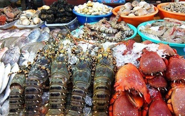 Hải sản Côn Đảo rất đa dạng và tươi ngon