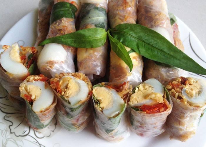 HOT Menu của Tây Ninh Food - Bánh tráng cuộn tròn căng, nhân đầy ụ
