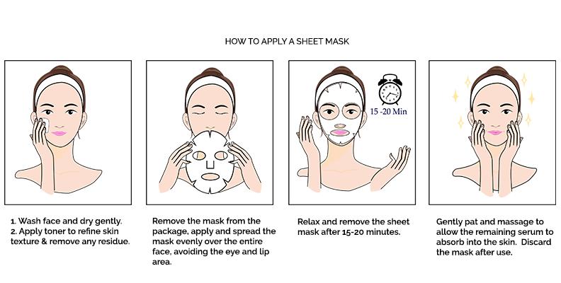 mặt nạ giấy trắng da
