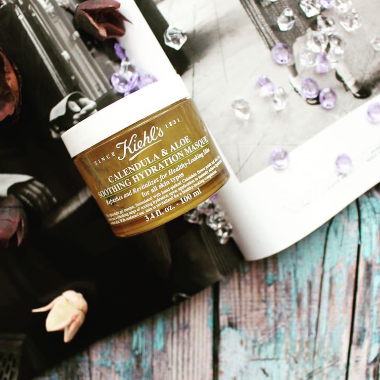 mặt nạ hoa cúc kiehl's review, cách dùng mặt nạ hoa cúc kiehl's