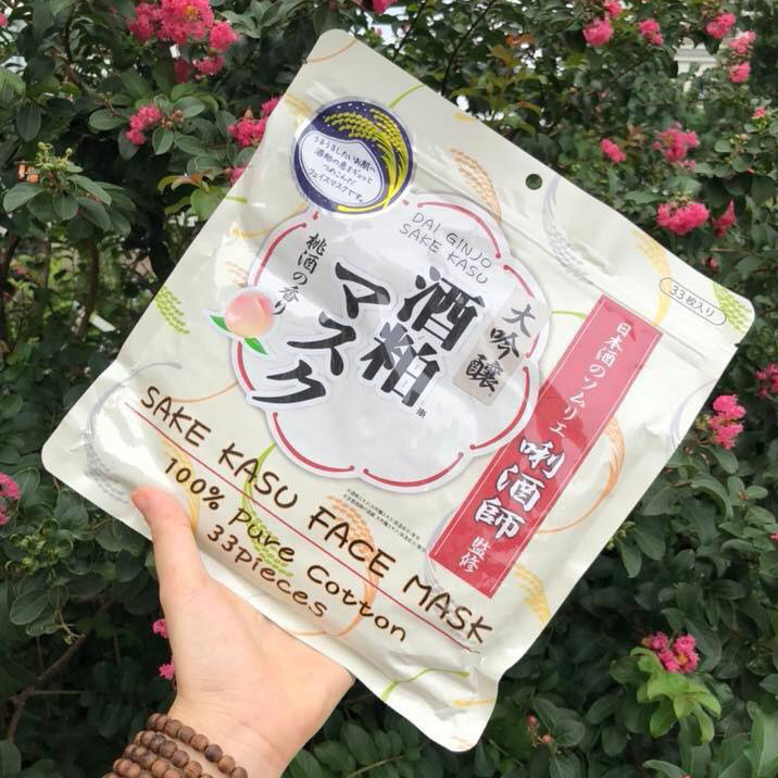 review mạt nạ sake kasu face mask, cách dùng mặt nạ sake kasu face mask tốt nhất, mặt nạ sake kasu face mask có tốt không