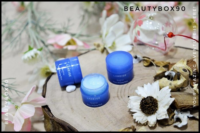 Review mat na ngu Laneige mini size