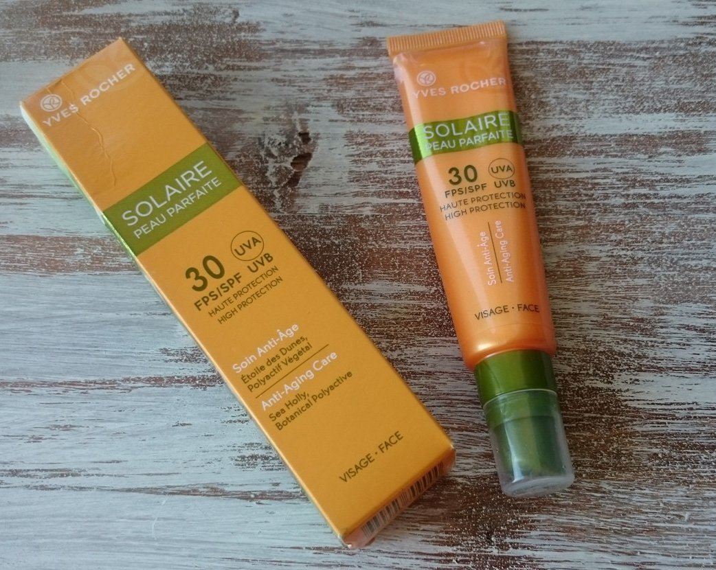 review kem chống nắng yves rocher