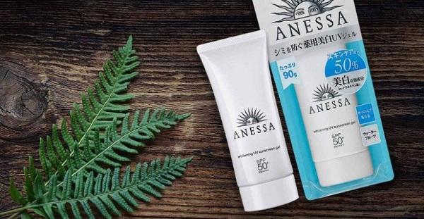 Kem chống nắng dưỡng trắng Anessa gel với công nghệ chống nắng mới nhất