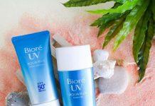 review kem chống nắng Biore UV Aqua Rich Watery Gel, cách sử dụng kem chống nắng, kem chống nắng Biore UV Aqua Rich Watery Gel có tốt không