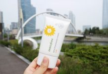 review kem chống nắng innisfree mild