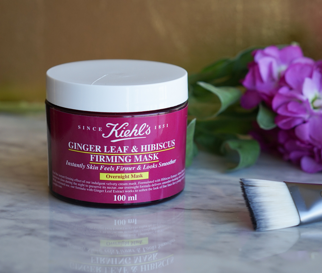 review mặt nạ ngủ kiehl's ginger