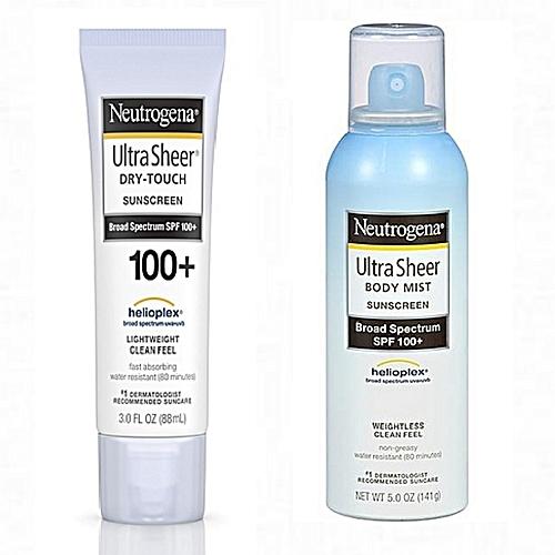 review kem chống nắng Neutrogena SPF 100
