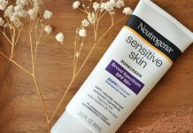 Review kem chong nang Neutrogena Sensitive Skin