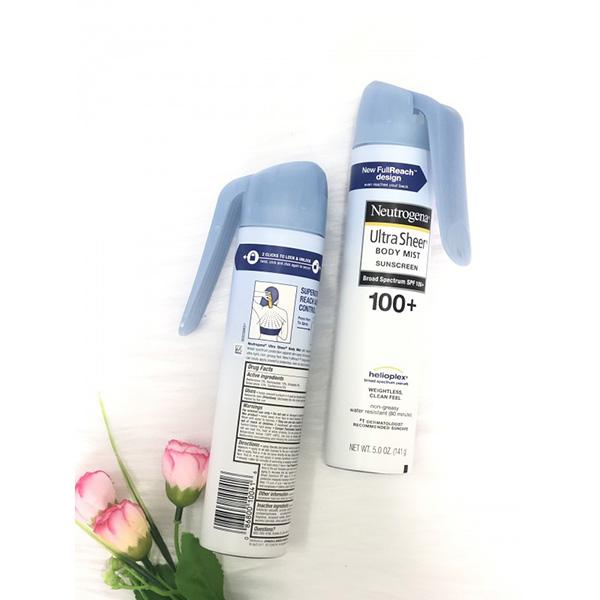 Xịt chống nắng Ultra Sheer Body Mist Sunscreen SPF 100
