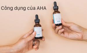 Duong chat AHA có trong mat na collagen hoa hong