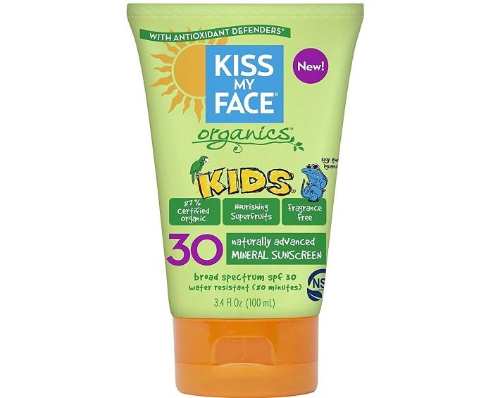 kem chống nắng cho bé review thương hiệu kiss my face
