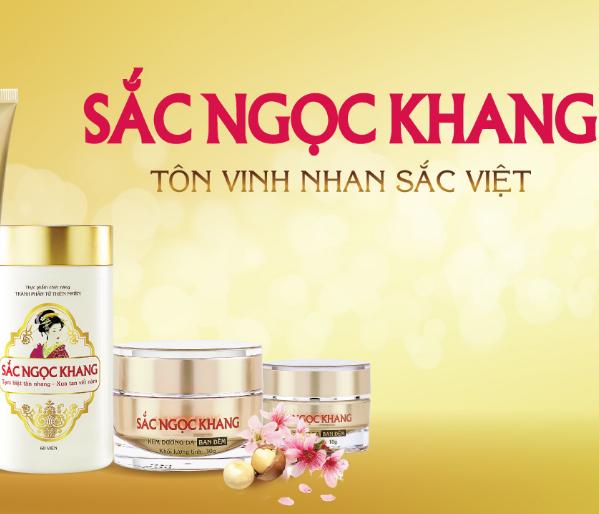 Logo thuong hieu mỹ pham Sac Ngoc Khang