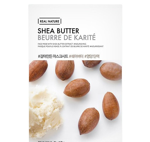 Mat na giay Real Nature Shea Butter