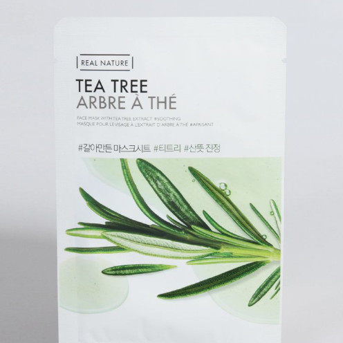 Mat na giay Real Nature Tea Tree
