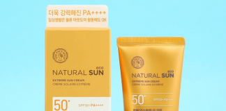 Review kem chong nang Natural Sun Eco