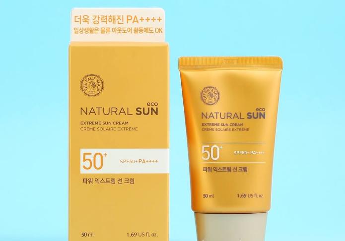 Review kem chong nang Natural Sun Eco
