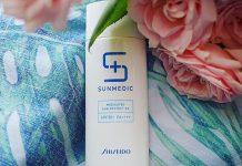 review kem chống nắng shiseido sunmedic