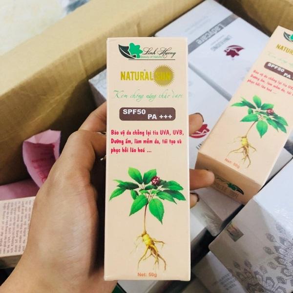 review kem chong nang linh huong