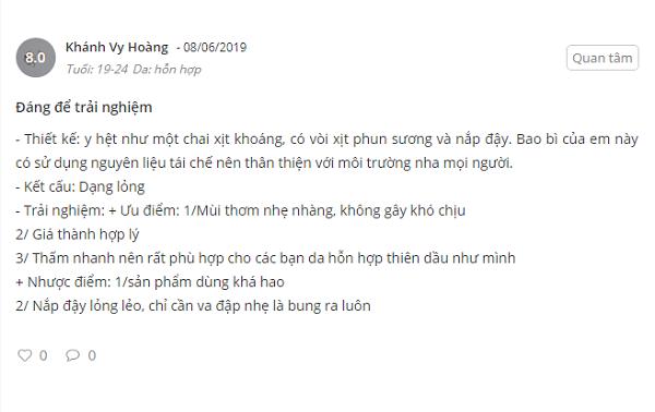 Review Kem chong nang V7 chinh hang