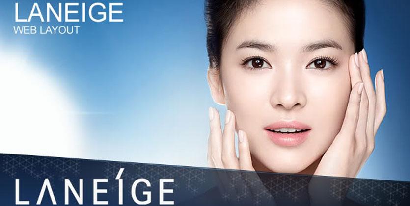 song hye kyo la guong mat dai dien cho Laneige