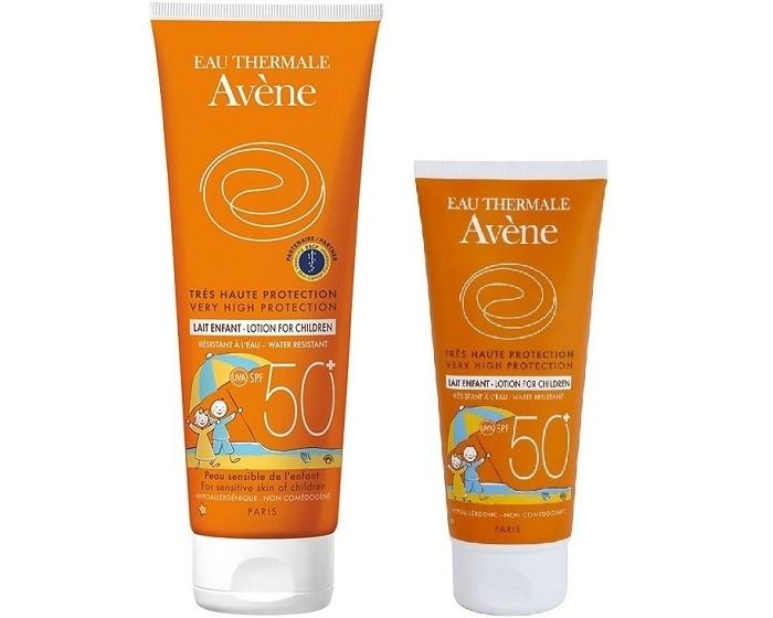 kem chống nắng cho bé review sản phẩm avene