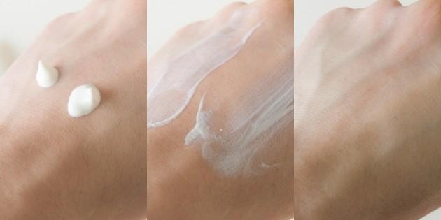 review kem chống nắng kiehl's ultra light Daily UV Defense về kết cấu