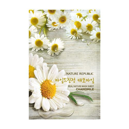 mask-sheet-real-nature-chamomile-mask-sheet-1