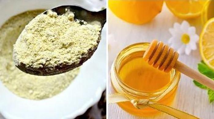 review mặt nạ bột đậu xanh và mật ong