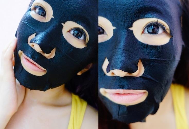 review mặt nạ ngọc trai đen dr. morita về thiết kế