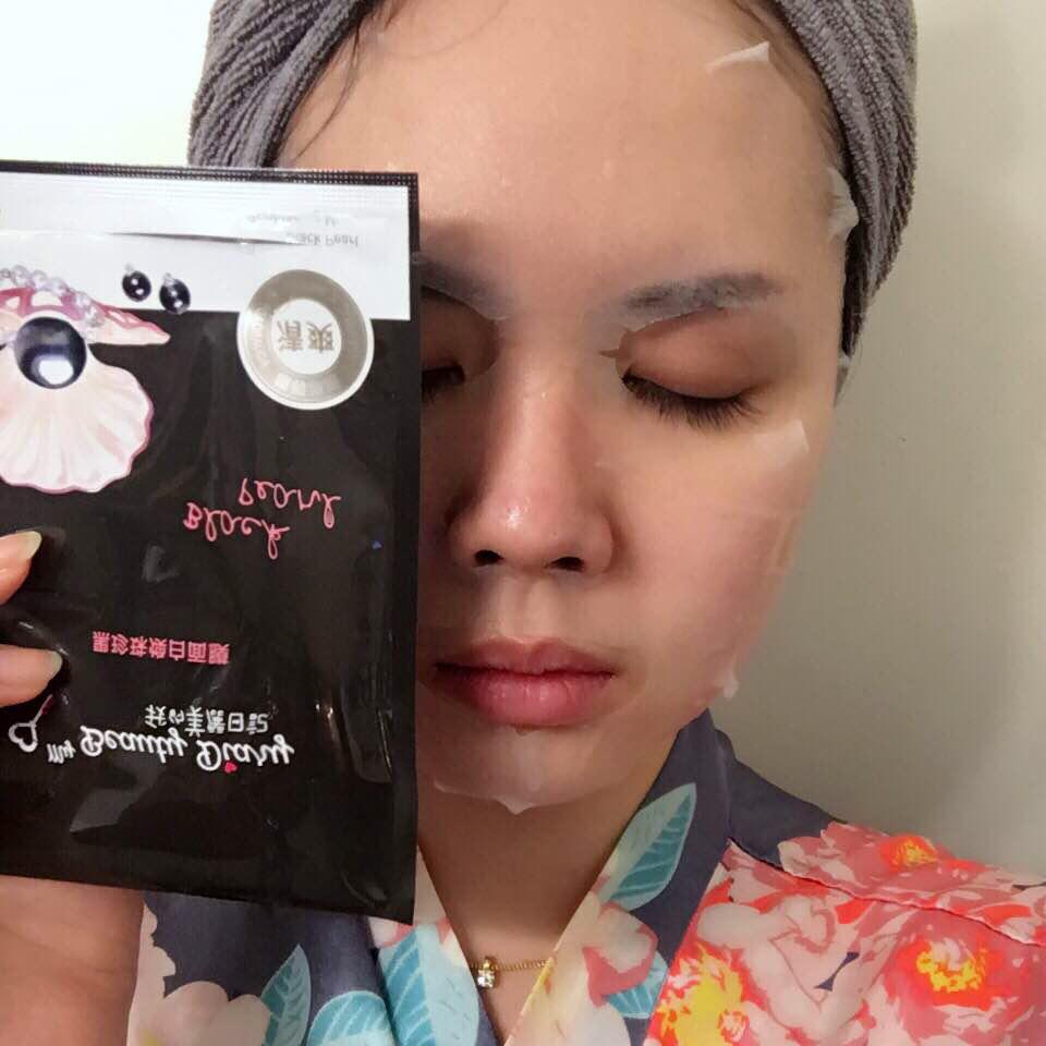 review mặt nạ ngọc trai đen my beauty diary về thiết kế