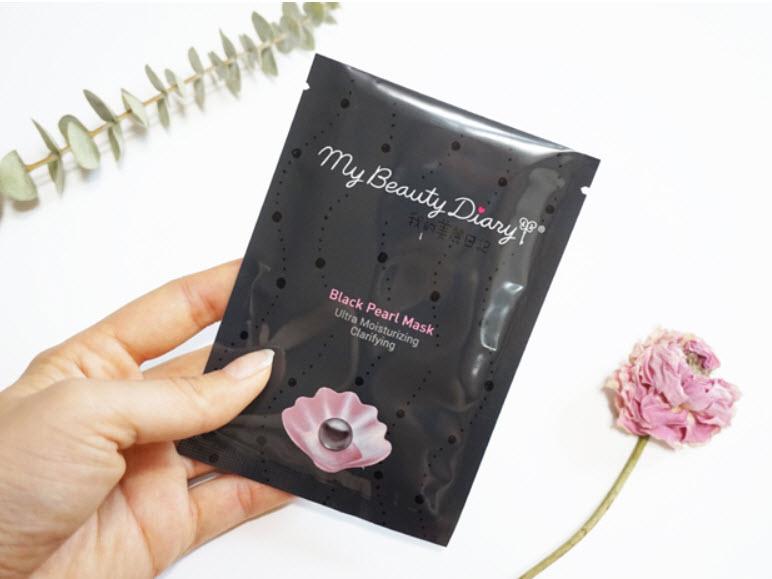 review mặt nạ ngọc trai đen my beauty diary về hiệu quả sử dụng