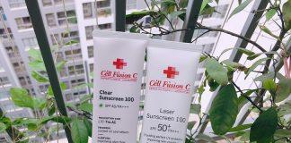 review kem chong nang Cell Fusion C