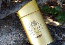 Review kem chong nang Shiseido Anessa
