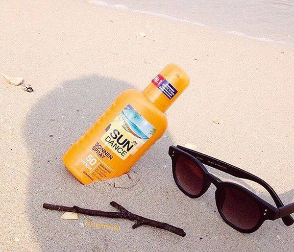 review kem chống nắng sundance dạng xịt đức về ưu điểm