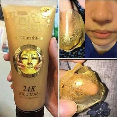 tac dung chong lao hoa cua mat na 24k gold mask