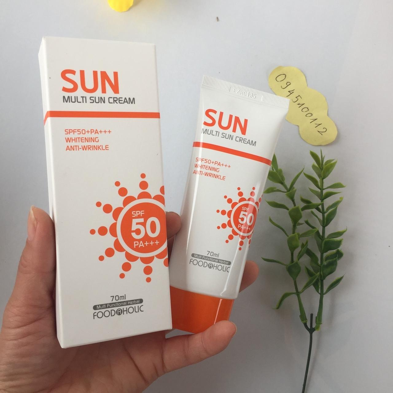 Review Kem Chống Nắng Multi Sun Cream - Đập tan cơn ác mộng về da