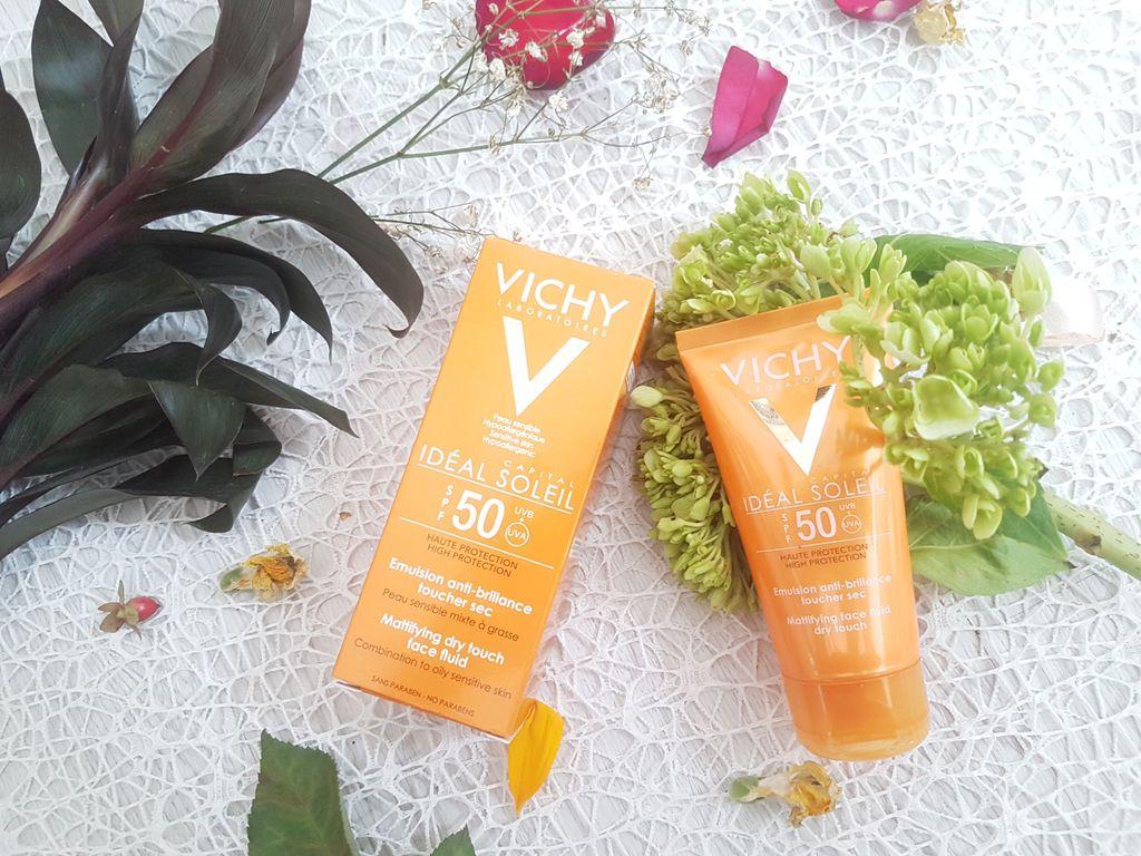 Review kem chong nang Vichy Ideal Soleil