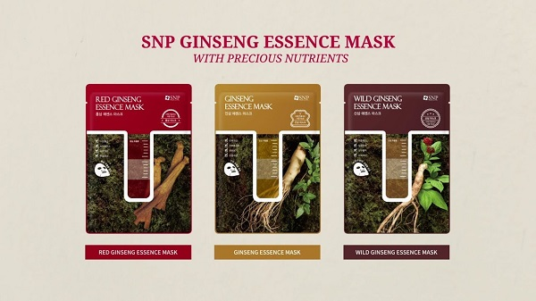 Review mat na nhan sam han quoc SNP Ginseng Essence Mask