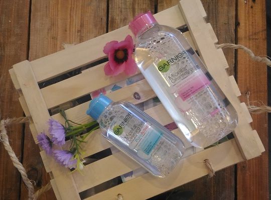 Review nuoc tay trang Garnier Micellar Cleansing Water