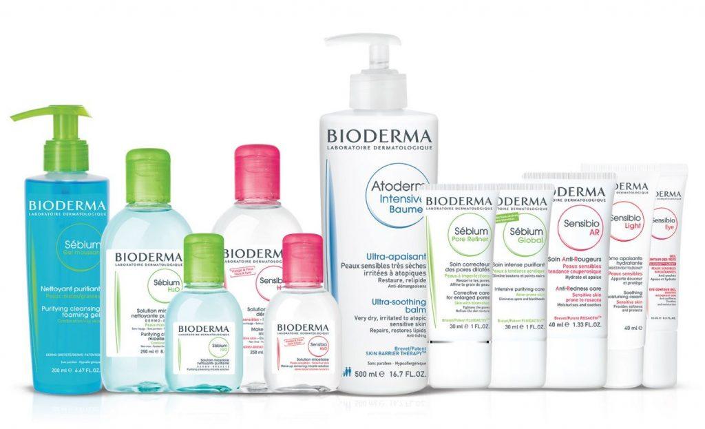 nước tẩy trang Bioderma 100ml các dòng sản phẩm