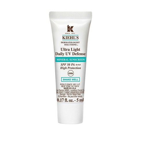 Kem Chống Nắng Kiehl's Ultra Light Daily UV Defense Mineral Sunscreen SPF 50