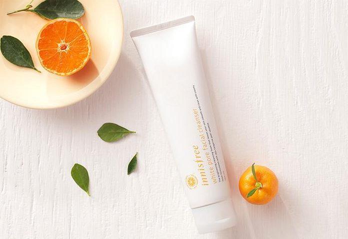 review sữa rửa mặt innisfree white pore facial cleanser