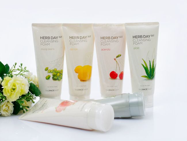 sua rua mat The Face Shop Herb Day 365 Review