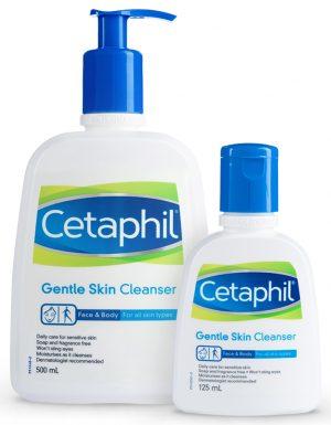 Sữa rửa mặt Cetaphil review bao bì thiết kế