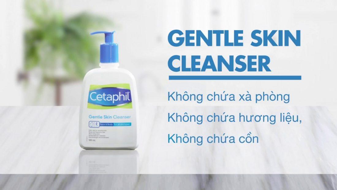 Sữa rửa mặt Cetaphil 500ml review chi tiết