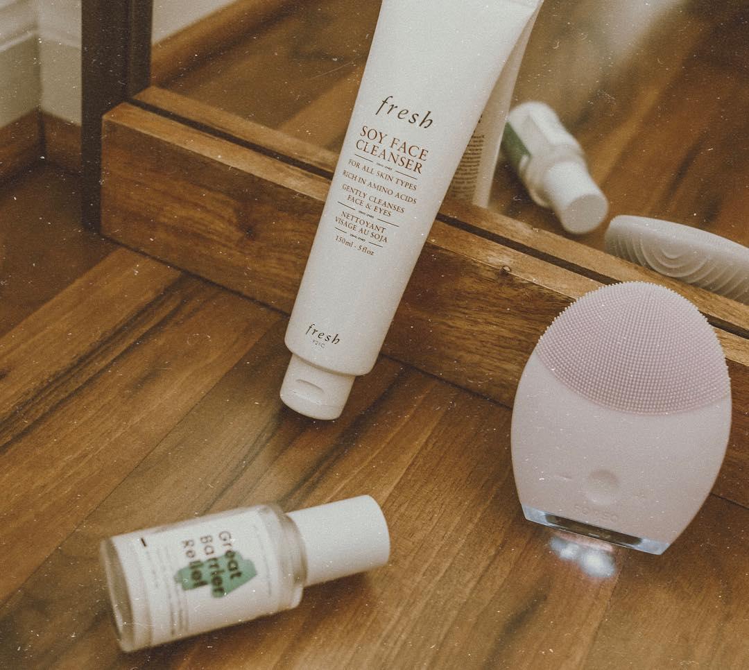 review sữa rửa mặt fresh soy face cleanser về hiệu quả làm sạch
