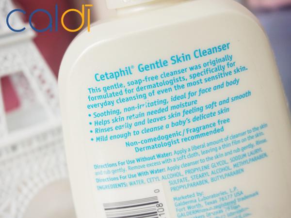 sữa rửa mặt cetaphil review thành phần sản phẩm