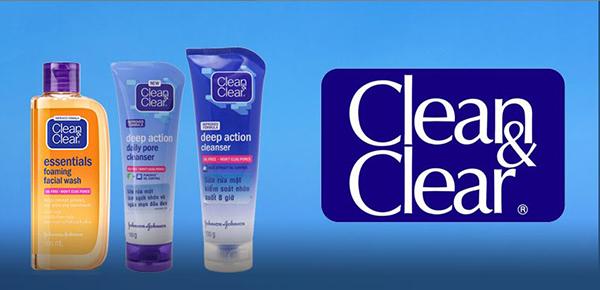 Thương hiệu Clean and Clear